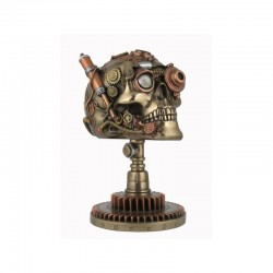 Kaukolė ant stovo - Steampunk