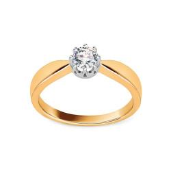 Sužadėtuvių žiedas su 0,300ct deimantu