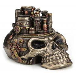 Steampunk kaukolė - pieštukinė