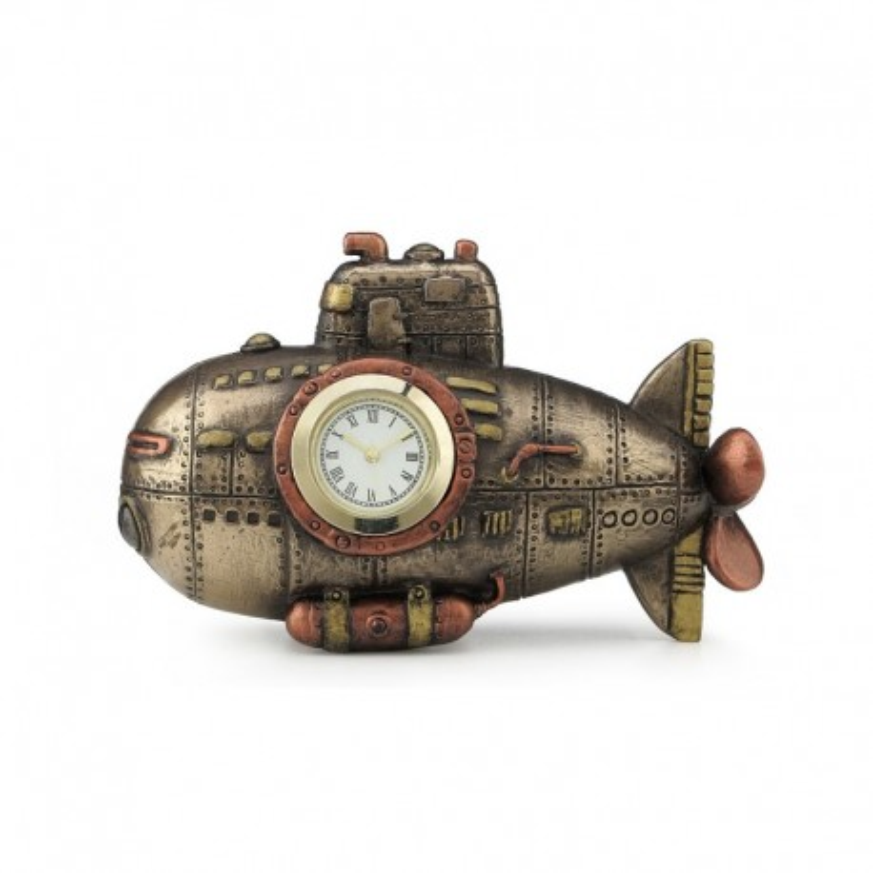 Steampunk laikrodis - Povandeninis laivas