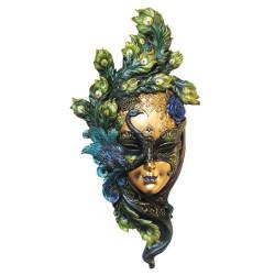 """Pakabinama Venecijos kaukė """"Povas"""". Veronese kolekcija"""