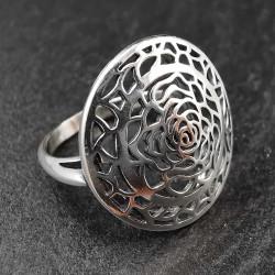 Sidabrinis žiedas 16,8 mm