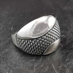 Sidabrinis žiedas 18 mm