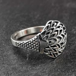 Sidabrinis žiedas 18,5 mm