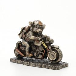 Steampunk Paršelis Motociklininkas. Veronese kolekcija